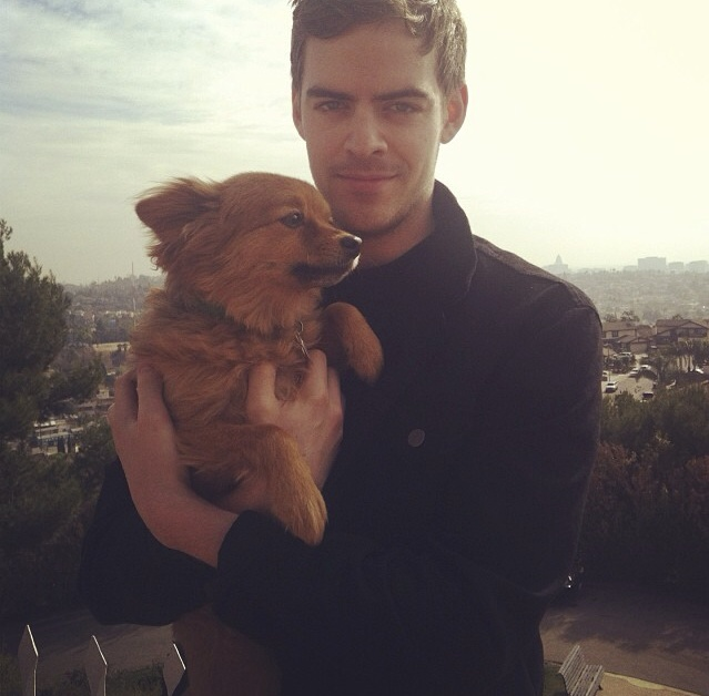 Ryan Hemsworth Marcel the Dog Los Angeles, February 2014