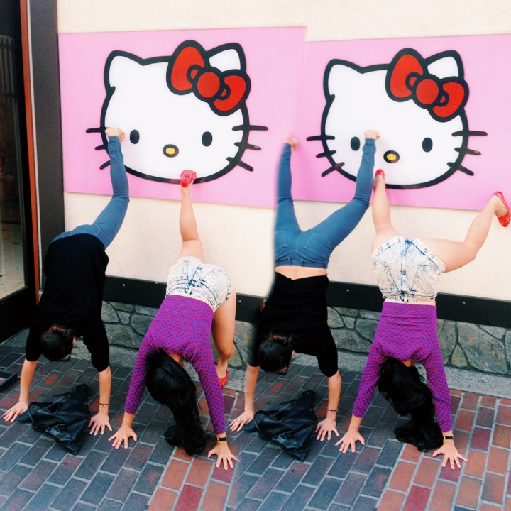 Twerking in Little Tokyo