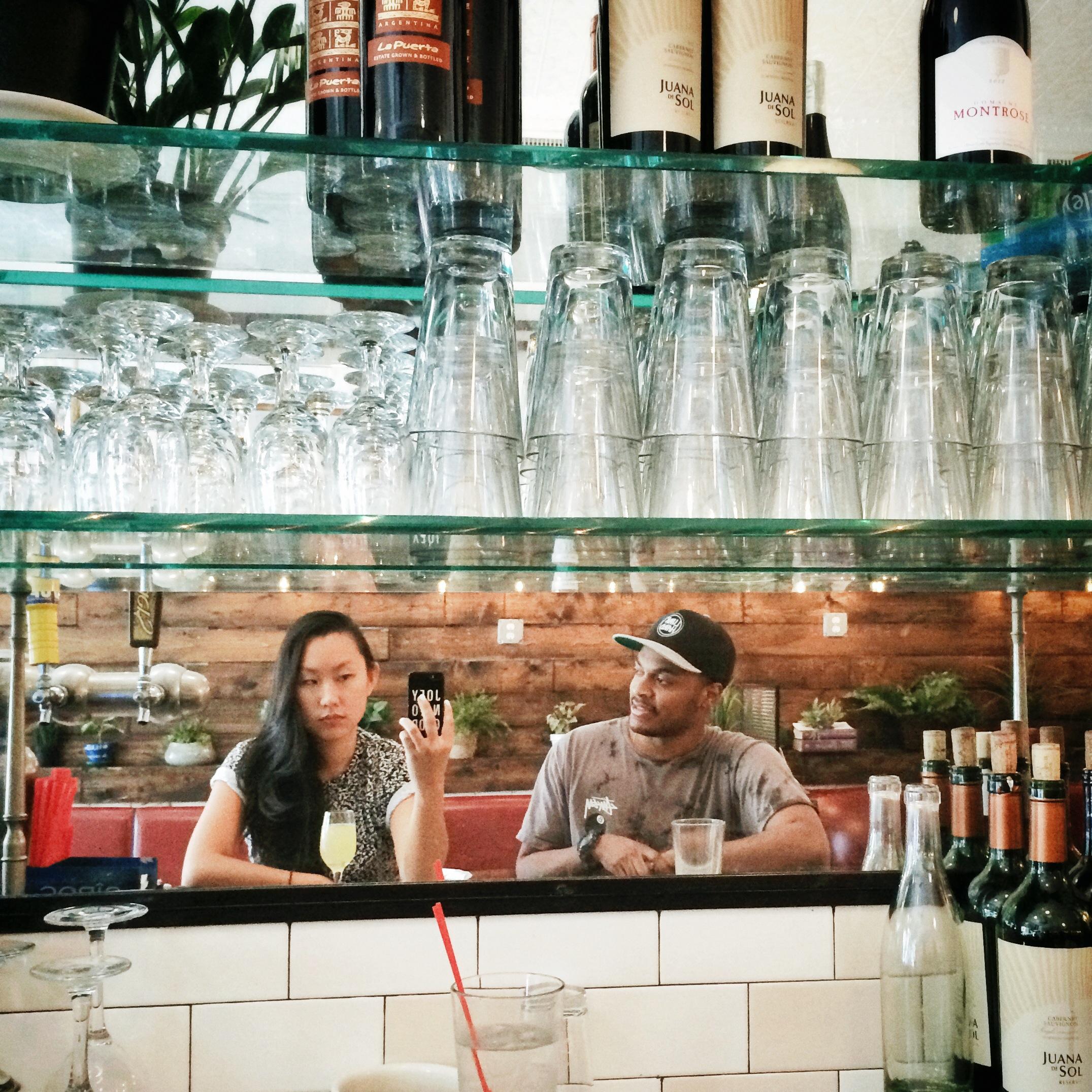 Breakfast with Lee Bannon, Brooklyn 2014