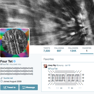 Four Tet's Only Favourite