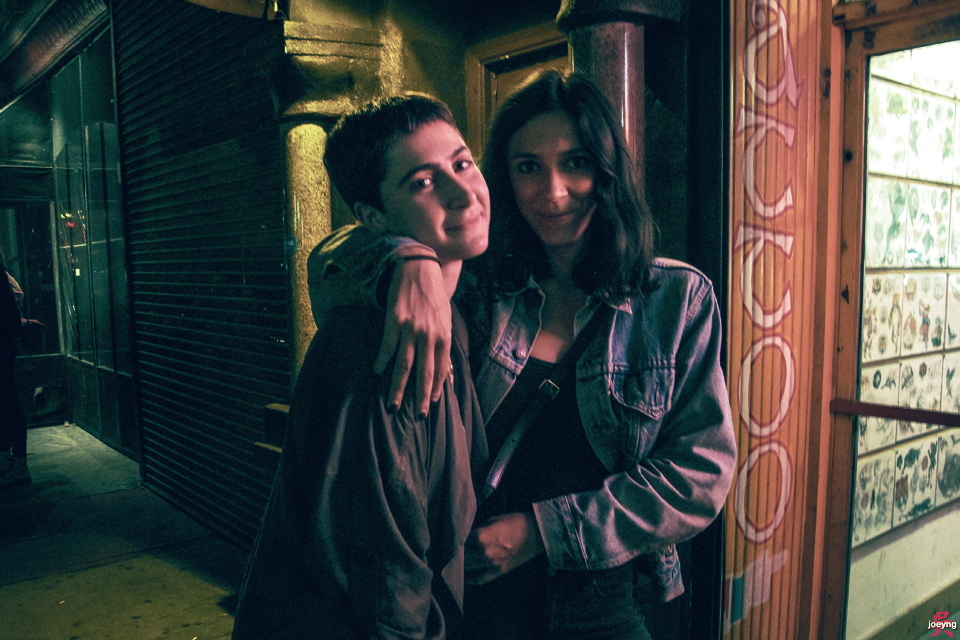 Linza Mason Thina Desancic East Village New York 2015