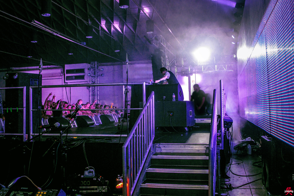 Hudson Mohawke at Hard Summer 2015 Purple Stage
