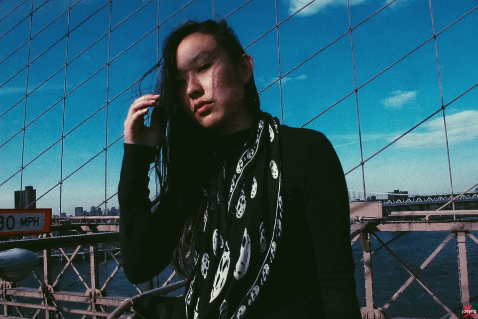 Joey Ng Brooklyn Bridge New York April 2015